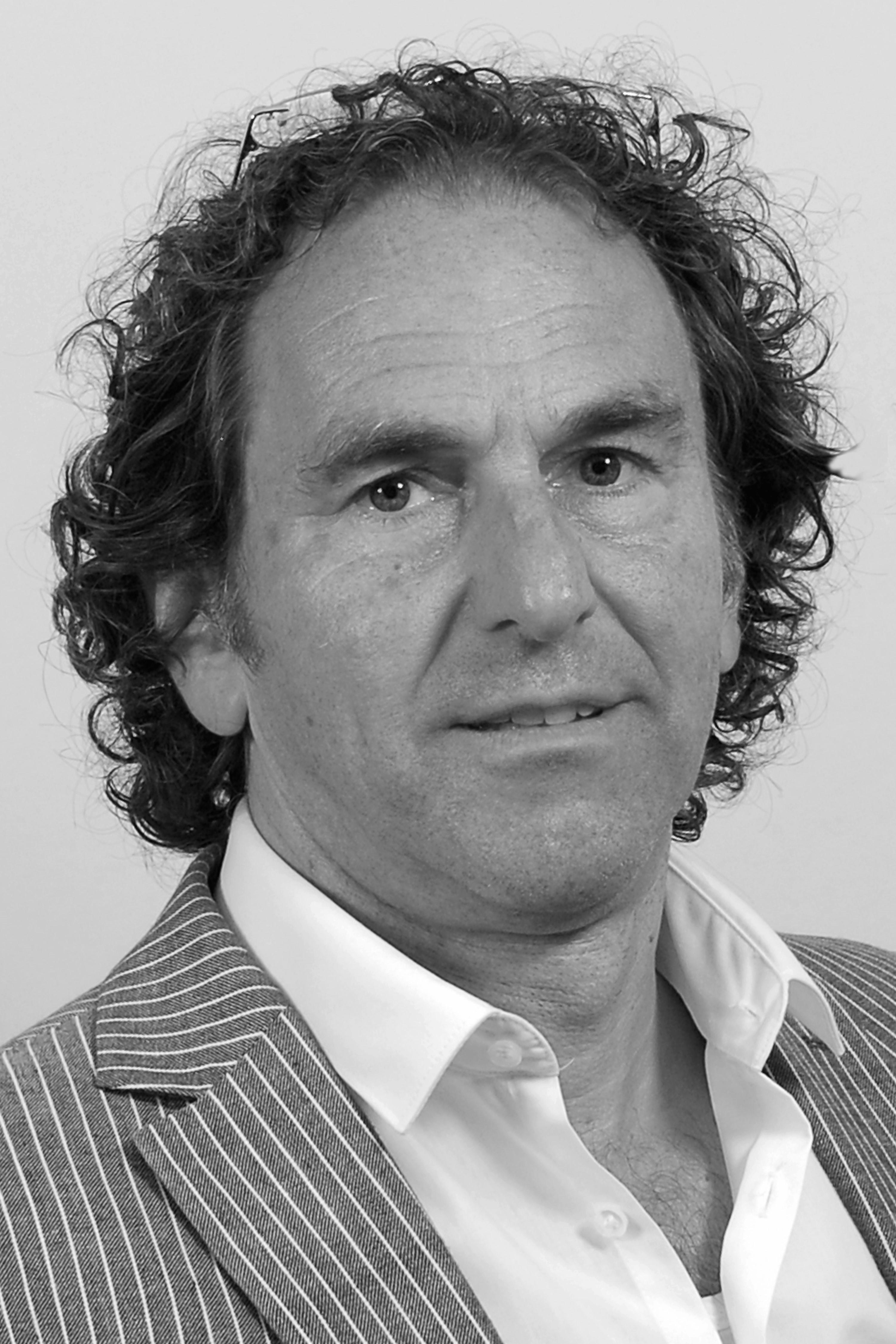 Velden, Marcel van der Portretfoto zwartwit